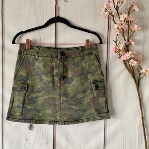 TRIPP NYC / ARMY DEMIM SKIRT